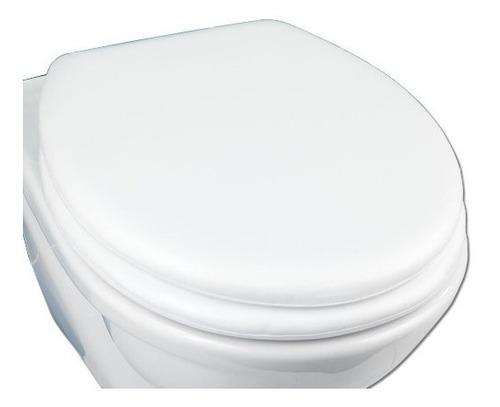 Tapa De Inodoro Water Acolchonadas Blanca 40cm X 36cm
