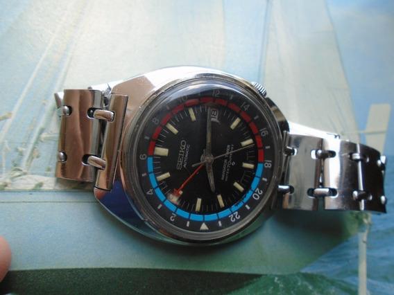 Seiko Antigo Navigator Timer Gmt 6117 6410 Cal 6117b 1972
