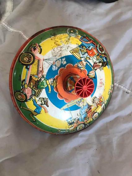 Brinquedo Em Chapa Antigo Década De 40/50