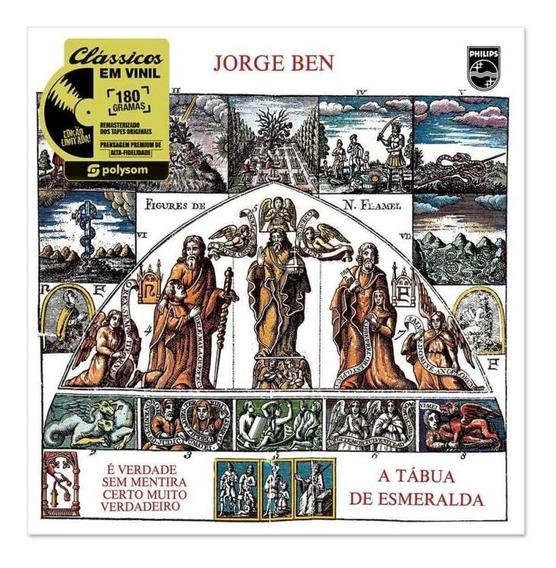 Lp Jorge Ben - A Tábua De Esmeralda