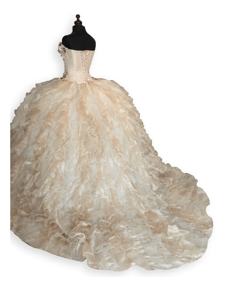 Vestido Novia Elegantes Xv Años Dama Largos Cortos Fiesta