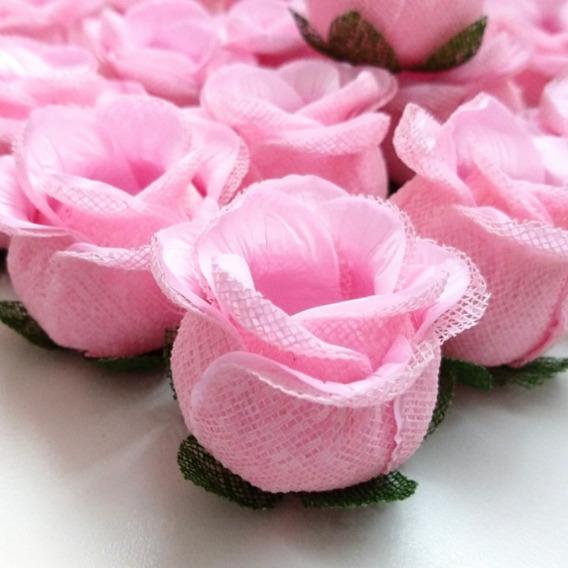 150 Forminhas Botao De Rosa Para Doces-