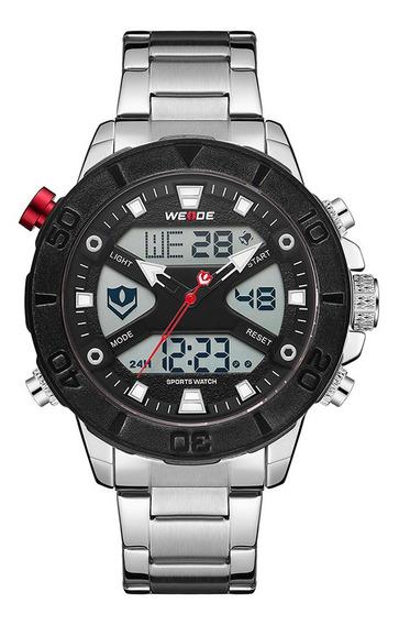 Weide Wh8503 Dual Display Relógio De Quartzo Digital Com