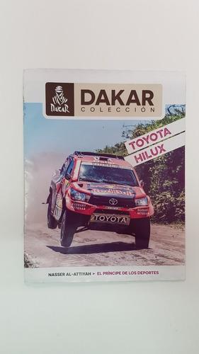 Libro Coleccion Dakar Toyota Hilux 2017