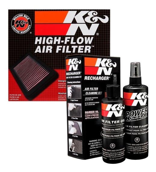 Filtro Ar K&n Inbox Calibra Frontier K N + Kit Limpeza Kn
