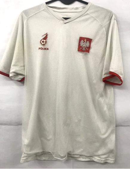 Camiseta De Polonia Puma Doble Tela Poland Polska Usada