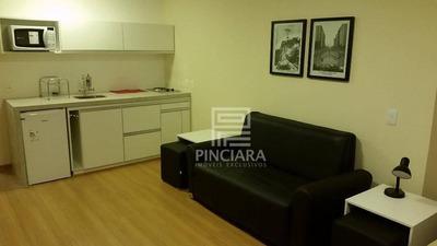 Flat Para Alugar, 32 M² Por R$ 2.100/mês - Centro - Rio De Janeiro/rj - Fl0006