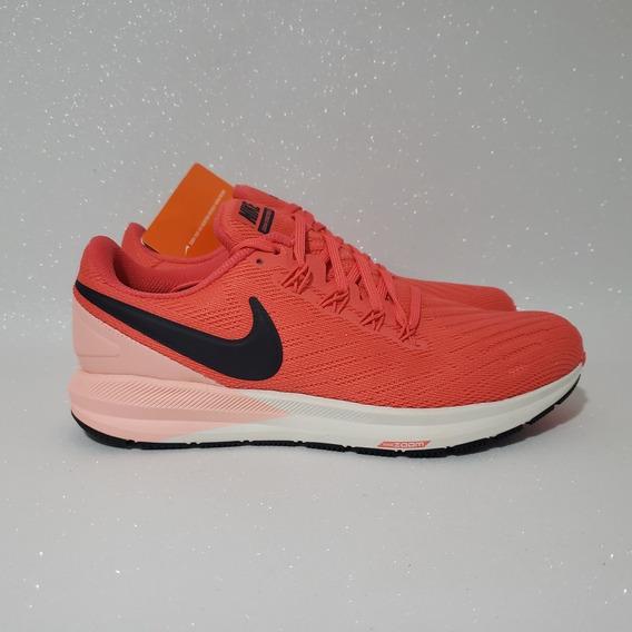Tênis Nike Air Zoom Structure 22 Pisada Pronada Rosa Origin