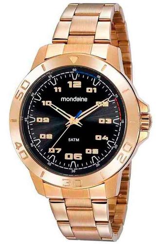 Imagem 1 de 3 de Relógio Masculino Dourado Mondaine 99468gpmvde1