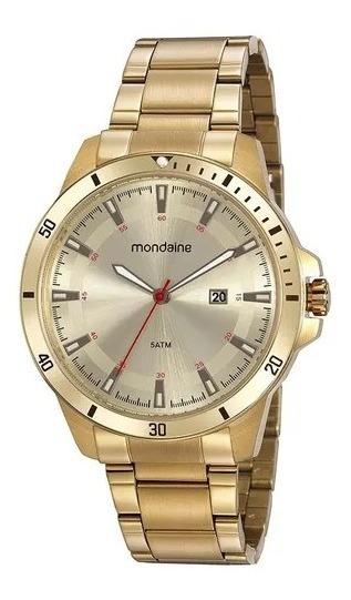 Relógio Mondaine Dourado Masculino 99438gpmvda1