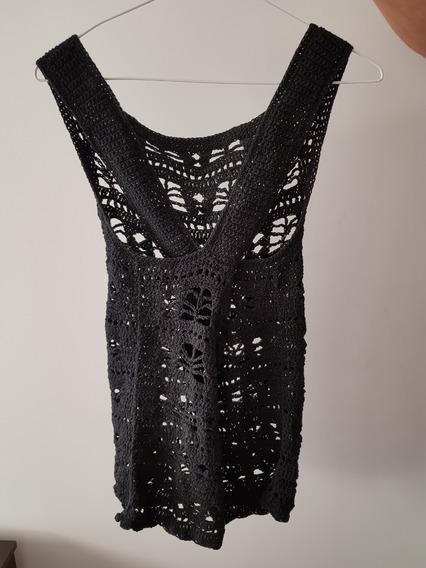 Musculosa Tejida A Mano Crochet Nueva