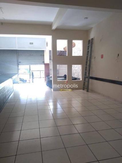 Salão À Venda, 165 M² Por R$ 950.000,00 - Santa Paula - São Caetano Do Sul/sp - Sl0160