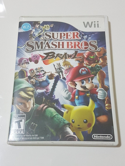 Super Smash Bros Brawl Original Para Nintendo Wii