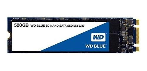Disco Ssd M.2 Western Digital Blue 3d Nand Sata 500gb Nnet