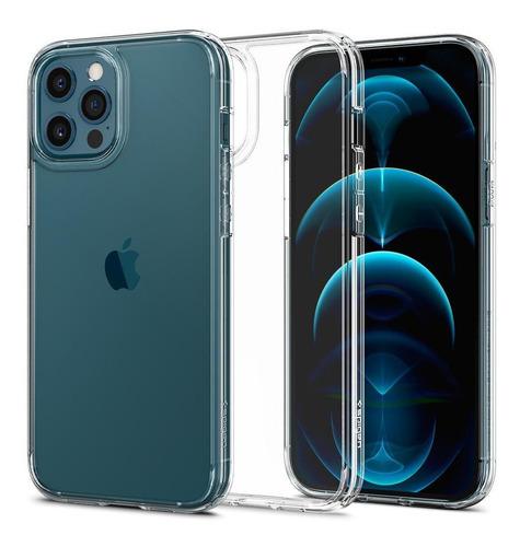 Capa Original Spigen iPhone 12 E 12 Pro Ultra Hybrid Crystal