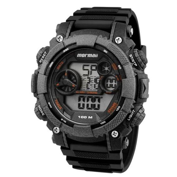 Relógio Mormaii Mo12579b8y Chumbo