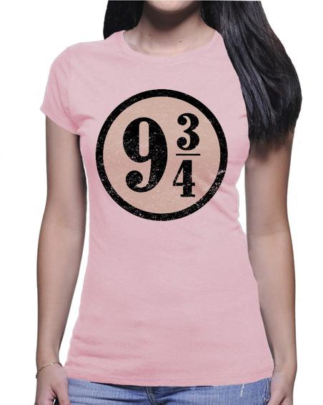 Camiseta Harry Potter Plataforma 9 3/4 Hogwarts Express 4186