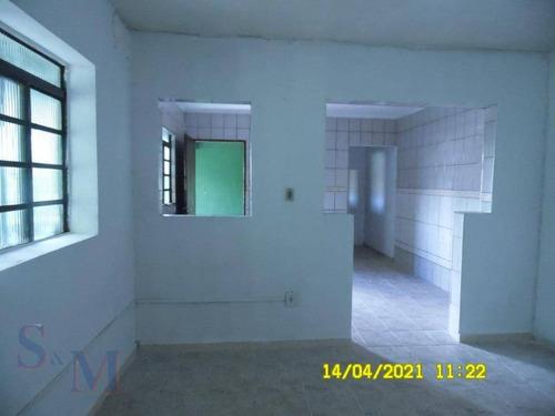 Imagem 1 de 16 de Casa Com 1 Dormitório Para Alugar, 35 M² Por R$ 600,00/mês - Cidade São Jorge - Santo André/sp - Ca0801