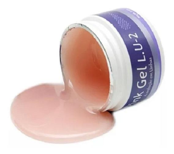 Gel Pink 33g Lu2 Piu Bella Tradicional Original Promoção