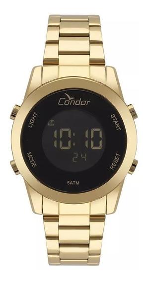 Relógio Condor Feminino Digital Dourado Cobj3279aa/4p