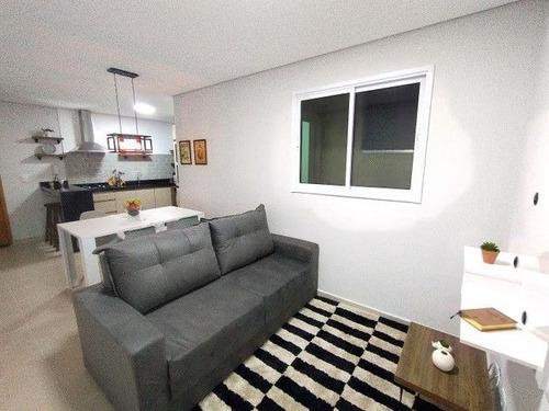 Apartamento Com 2 Dormitórios À Venda, 67 M² Por R$ 371.000,00 - Parque Das Nações - Santo André/sp - Ap8742