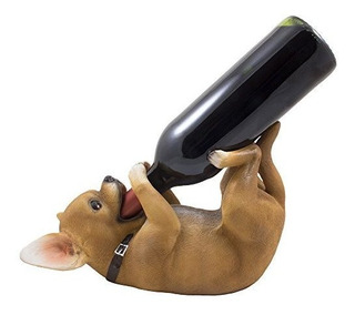 Soporte Para Botella De Vino, Diseño De Chihuahua, Diseño De