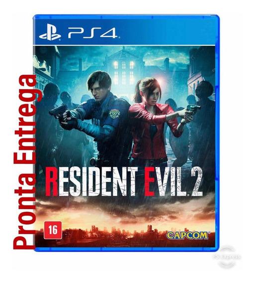 Jogo Resident Evil 2 Remake Ps4 Midia Fisica Pronto Entrega