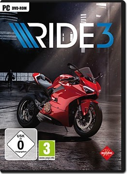 Ride 3 ( Mídia Física ) Pc - Dvd