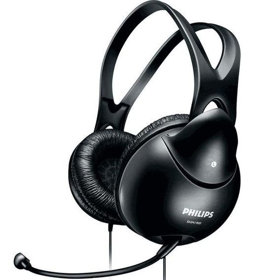 Fone Com Microfone Philips Para Pc Notebook Tablet Celular