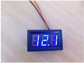 Kit10 Voltímetros Digital 3 Fios 0-30 V Frete Rapido Grátis
