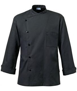 Chaqueta Chef Julius Negra M/larga Cocina Youniforms