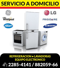 Reparacion, Whirlpool , Frigidaire, Atlas, Lg, Samsung, Ge