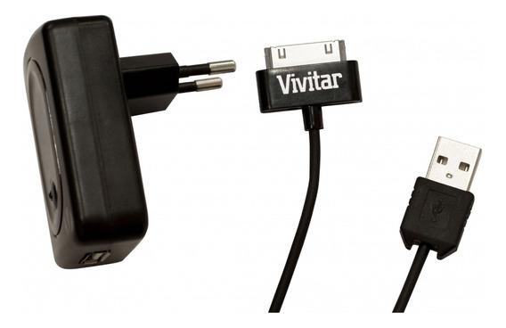 Carregador Ac 110 V Para iPad, Iphon E iPod Vivitar