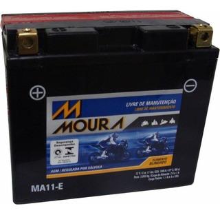 Bateria Moto Moura Yt12b-bs / Ma11-e Yamaha Xvs 650 Dragstar
