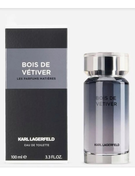 Bois Vétiver De Karl Lagerfeld Edt 100ml Original, Na Caixa