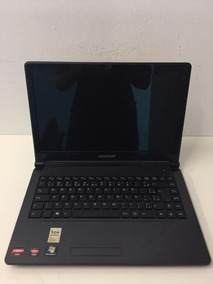 Notebook Megaware Amd Dual Core Leia Hd 320 Gb Mem Ram 4gb