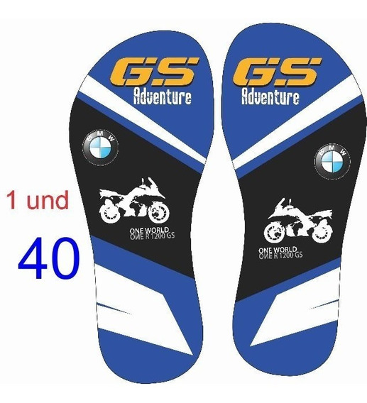 Kit Chinelo Bmw Adventure One World - Gs 1200 - 43/44 E 37