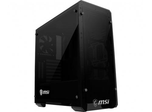 Gabinete Gamer Msi Mag Bunker Pc Vidrio Templado Fullh4rd
