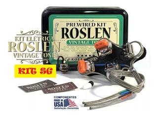 Kit Elétrica Sg Circuito Gibson 3 Captadores S/ Chave