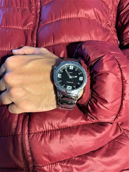 Relógio Masculino Prata - Curren - Original