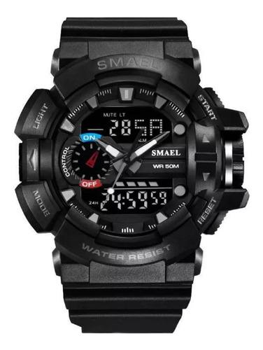 Relógiomasculino Militar Smael 1436 Prova D´agua