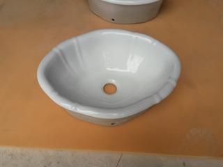 Bacha De Porcelana De Baño Embutir Detalles De Terminación