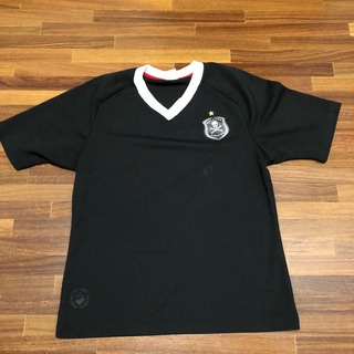 Camisa Orlando Pirates - África Do Sul - Retrô (preta Lisa)