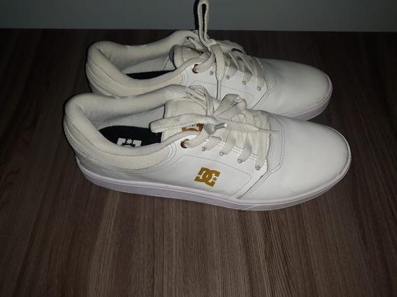 Tênis Dc Shoes Crisis Le La - Branco