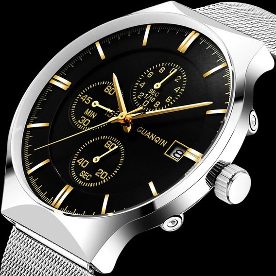 Relógio - Guanqin - Original - Quartzo - Em Estoque