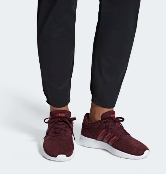 adidas Tenis Lite Facer Rojo Ultima Unidad + Envío Gratis