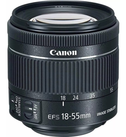 Objetiva Canon 18-55mm Efs Macro 0.25m/0.8ft