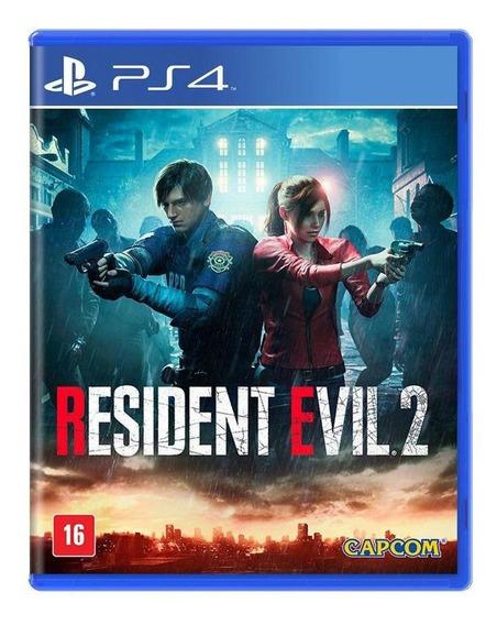 Resident Evil 2 Ps4 Mídia Física Novo Lacrado