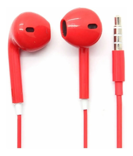 Netmak Auricular Con Microfono Rojo Urban Style Nm-ur70r Cba