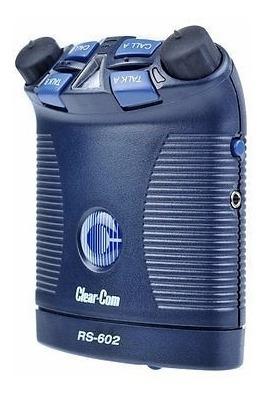 Sistema Intercomunicação Clear-com Beltpack Rs-602 2 Canais